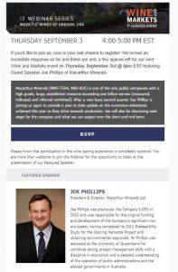 Joe Phillips Webinar - September 2020